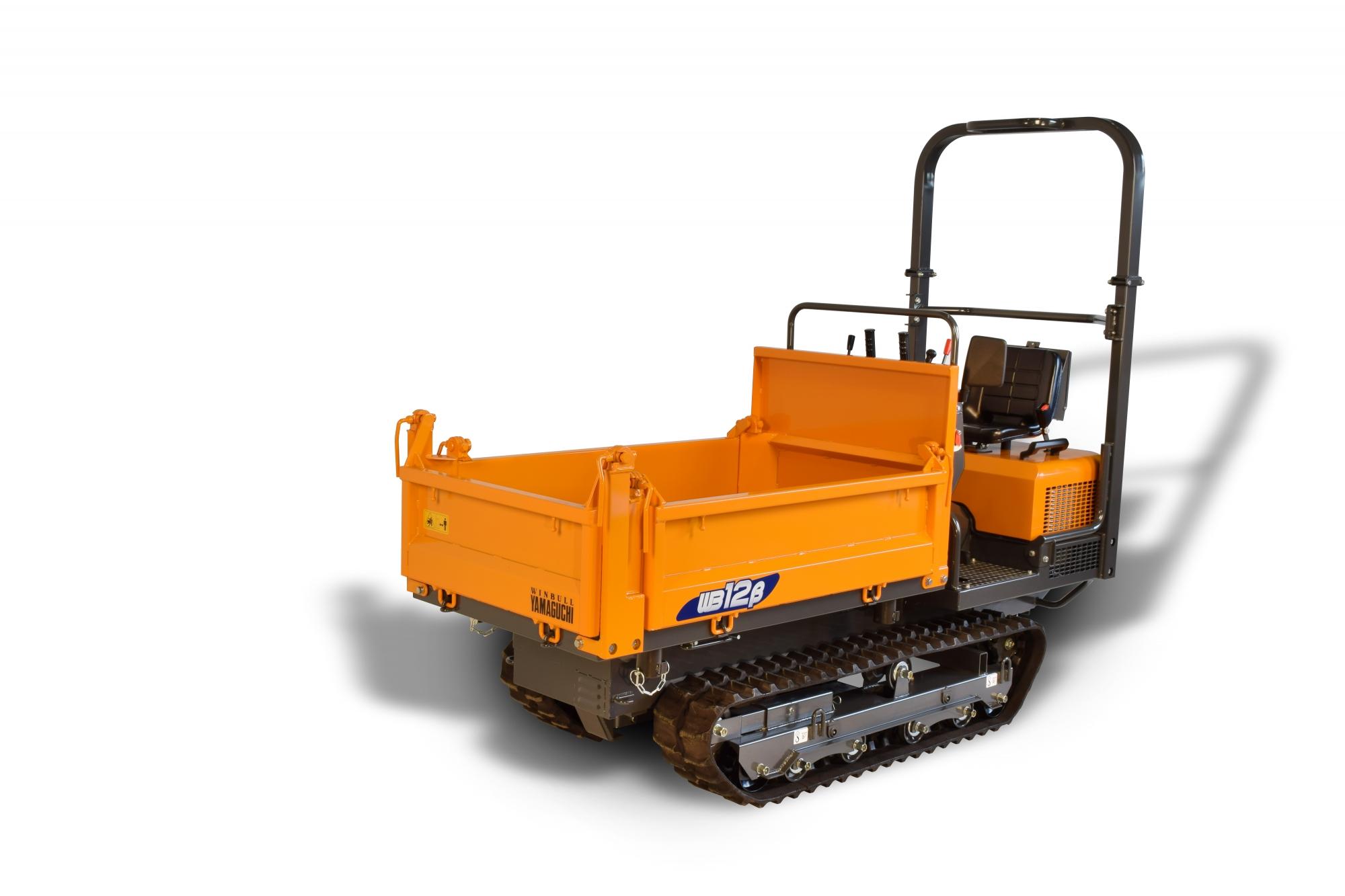 Yamaguchi Wb12 Mini Crawler Tracked Dumper Cautrac