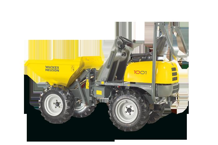 Wacker Neuson Compact Dumpers Compact Class 1 2 Tonne