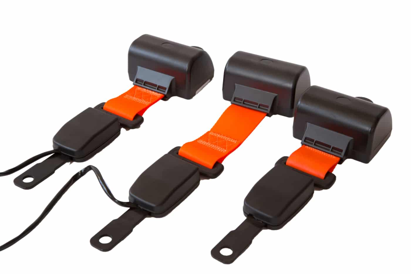 Hi Vis Seat Belts Green Beacon For Heavy Equipment Cautrac